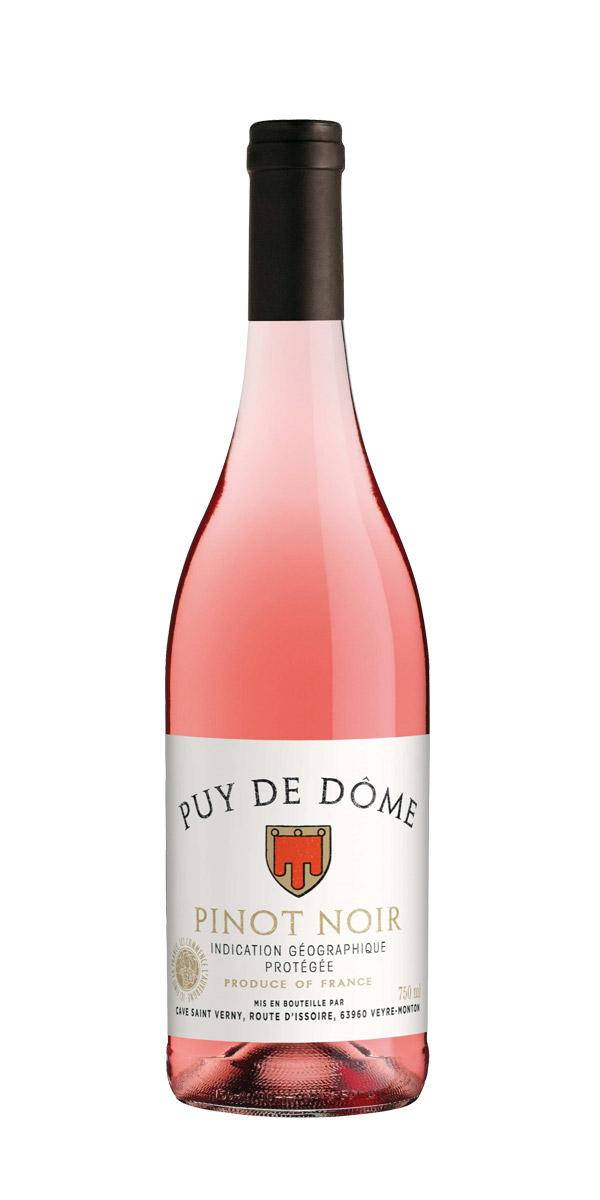 Puy de Dome Pinot Noir Rose Cave St. Verny