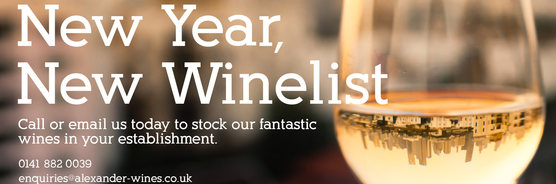 New Year, New winelist